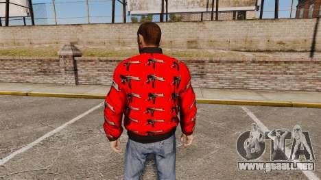Cazadora-Uzi - para GTA 4 segundos de pantalla