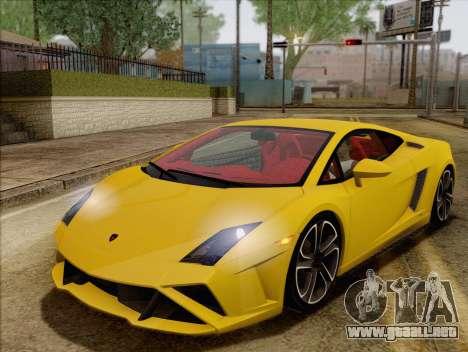 Lamborghini Gallardo 2013 para GTA San Andreas