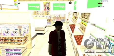 Dos relacionados con Interior cambiar para GTA San Andreas quinta pantalla