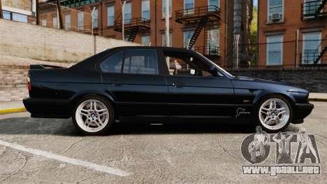 BMW M5 E34 para GTA 4 left