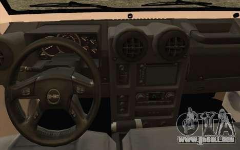 Toyota Fj70 2007 Pick Up para la visión correcta GTA San Andreas