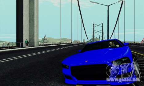 Búfalo de GTA V para visión interna GTA San Andreas