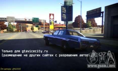Nuevos sonidos de máquinas V 1.0 para GTA 4 tercera pantalla