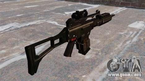 Rifle de asalto HK G36k para GTA 4 segundos de pantalla