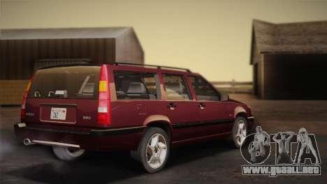 Volvo 850 Estate Turbo 1994 para GTA San Andreas left
