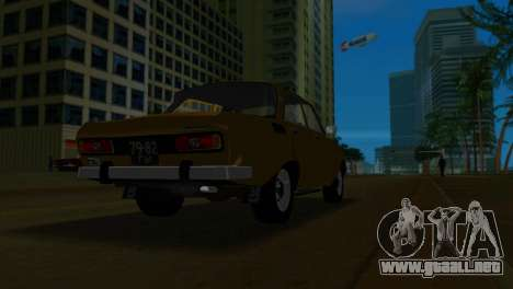 AZLK 2140 para GTA Vice City vista interior