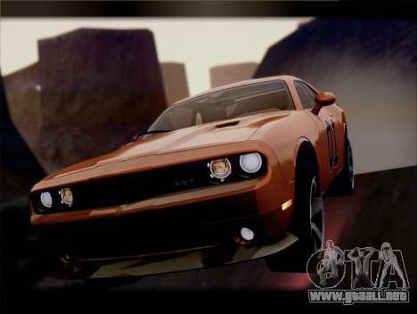 Dodge Challenger SRT8 2012 HEMI para las ruedas de GTA San Andreas