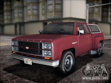 Bobcat insípida XL de GTA V para GTA San Andreas