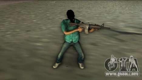 Carabina M4 para GTA Vice City