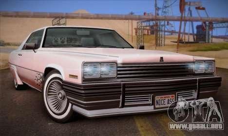 GTA V Manana para GTA San Andreas vista hacia atrás