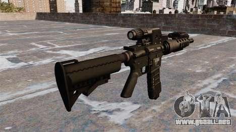 Automática M4 carabina táctica para GTA 4 segundos de pantalla