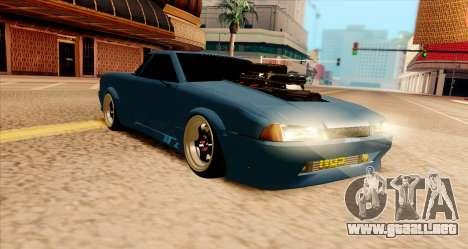 Elegy pickup v2.0 para GTA San Andreas