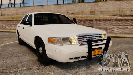 Ford Crown Victoria 1999 Unmarked Police para GTA 4