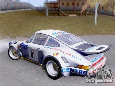 Porsche 911 RSR 3.3 skinpack 1 para visión interna GTA San Andreas