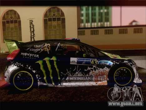 Ford Fiesta RS WRC 2013 para la visión correcta GTA San Andreas