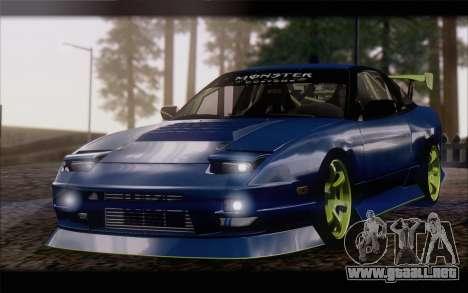 Nissan 240sx drift para GTA San Andreas
