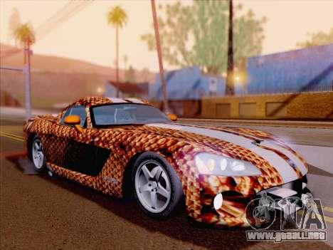 Dodge Viper SRT-10 Coupe para el motor de GTA San Andreas