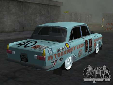 Moskvich 412 Rally para GTA San Andreas left