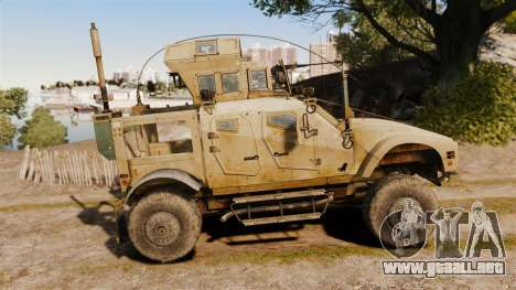 Oshkosh M-ATV para GTA 4 left