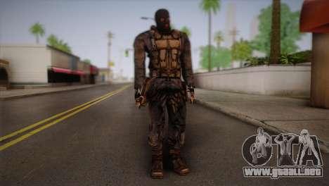 Un mercenario de l. a. t. s. k. e. R para GTA San Andreas