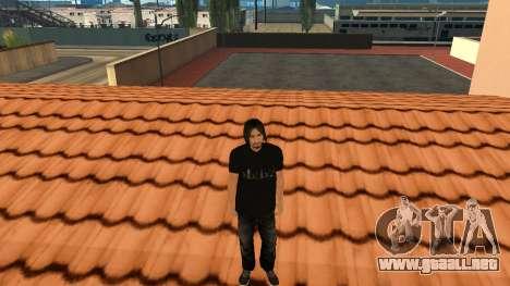 Piel de alta calidad personal para GTA San Andreas sexta pantalla