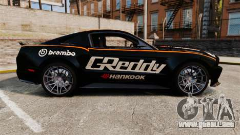 Ford Mustang GT 2013 NFS Edition para GTA 4 left