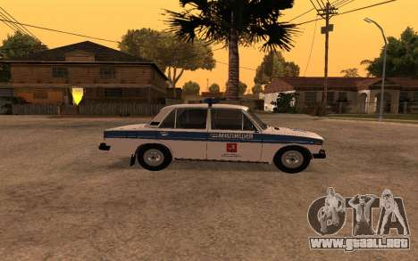VAZ 2106 DPS para GTA San Andreas left