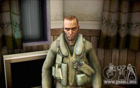 Nicolás de Call of Duty MW2 para GTA San Andreas