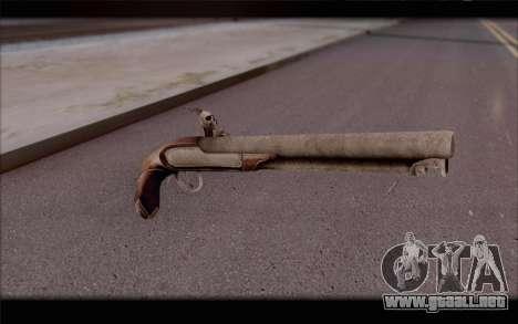 Pistola de pedernal-Lock para GTA San Andreas