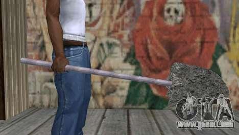 Tubos de hormigón para GTA San Andreas tercera pantalla