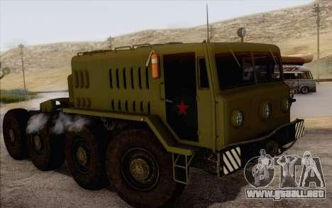 535 MAZ militar para GTA San Andreas