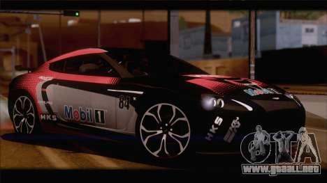 Aston Martin V12 Zagato 2012 [HQLM] para la visión correcta GTA San Andreas