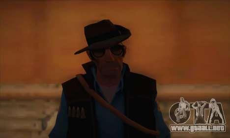 Francotirador de piel de Team Fortress 2 para GTA San Andreas tercera pantalla