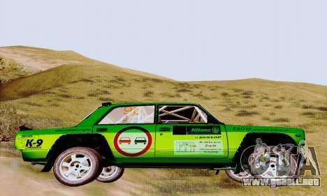 Lada 2105 VFTS para la visión correcta GTA San Andreas