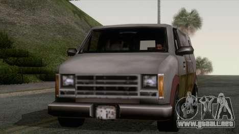 Campanas Rumpo XL de GTA 3 para GTA San Andreas vista posterior izquierda