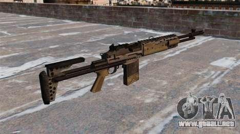 Fusil automático Mk 14 EBR para GTA 4 segundos de pantalla