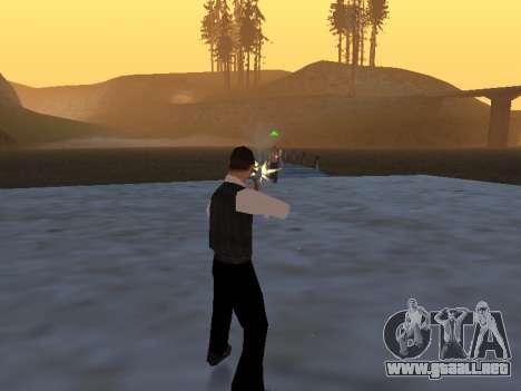 Un mito sobre el pescador para GTA San Andreas tercera pantalla