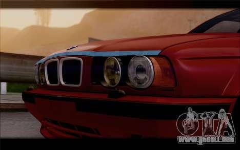 BMW E34 para la visión correcta GTA San Andreas