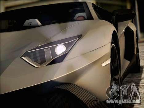 Lamborghini Aventador LP720 para GTA San Andreas left