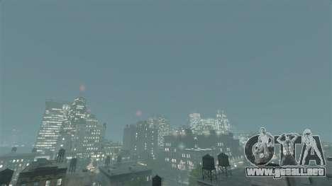 Clima de California para GTA 4 tercera pantalla