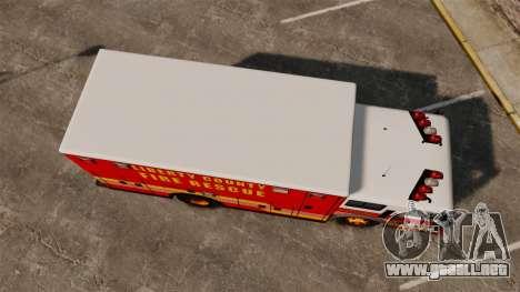 Hazmat Truck LCFR [ELS] para GTA 4 visión correcta