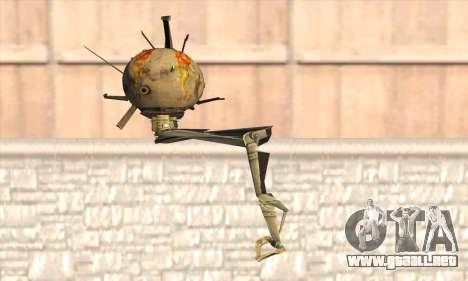 Robo Fallout 3 para GTA San Andreas segunda pantalla