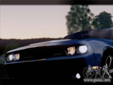 Dodge Challenger SRT8 2012 HEMI para el motor de GTA San Andreas