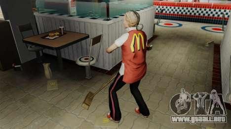 Comer McDonalds y Taco Bell para GTA 4 adelante de pantalla
