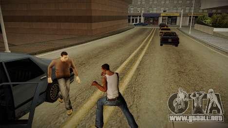 GTA HD Mod 3.0 para GTA San Andreas sucesivamente de pantalla