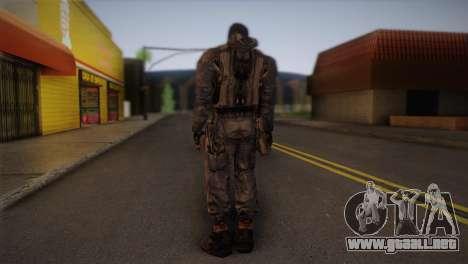 Un mercenario de l. a. t. s. k. e. R para GTA San Andreas segunda pantalla