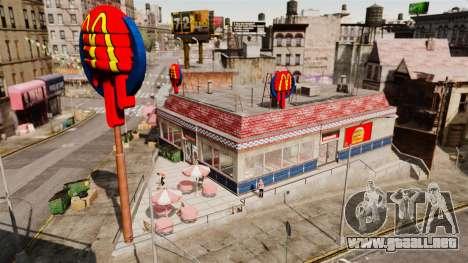 Comer McDonalds y Taco Bell para GTA 4 segundos de pantalla