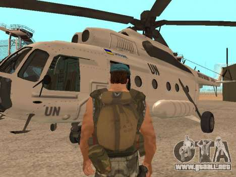 Formulario para CJ para GTA San Andreas segunda pantalla