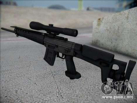 Rifle de francotirador HD para GTA San Andreas segunda pantalla