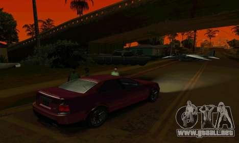 Presidente del GTA IV para GTA San Andreas vista hacia atrás